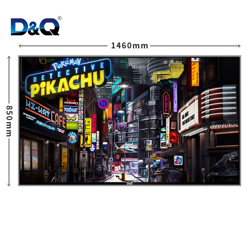D & Q TV-Real 4K HDR Ultra ThinスマートTV 65 ''<span class=keywords><strong>テレビ</strong></span>ホテル<span class=keywords><strong>led</strong></span><span class=keywords><strong>テレビ</strong></span>65インチ