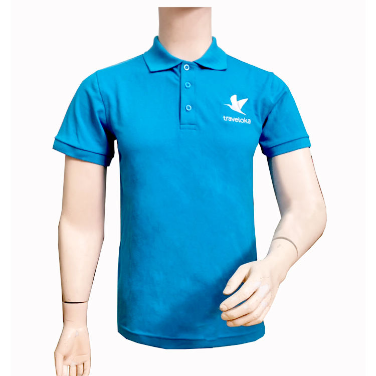 Custom Soft Comfortable Breathable Stretch Single Pigue Knitted Polo T-Shirt Fabric 2019