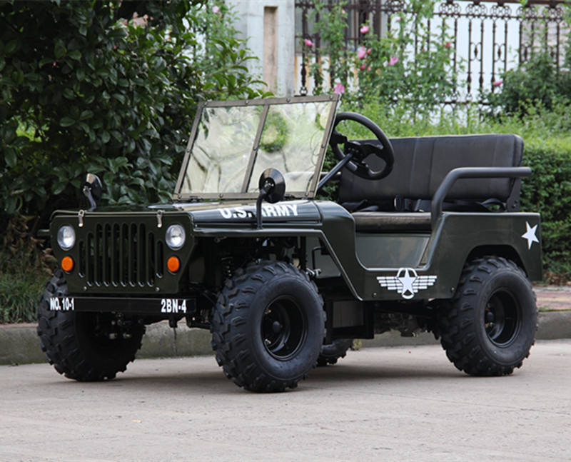 WHAT AN AMAZING SALE AND GREAT OFFER 800W/1200W electric mini willys rover / ATV CONTACT ASAP