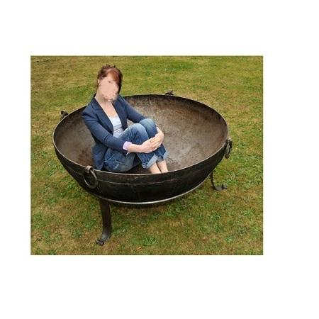 Large size hot sale iron fire pit