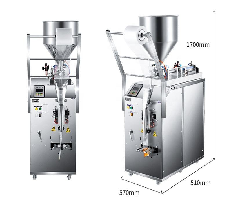 Automatic liquid filling packing machine paste sachet packing machine