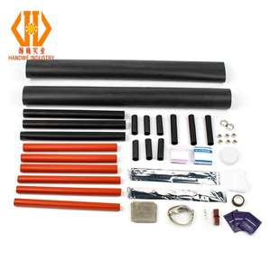Indoor & outdoor 1KV 11KV 35KV 1core ~5core Cold Shrink and Heat Shrink types of electrical cable joints