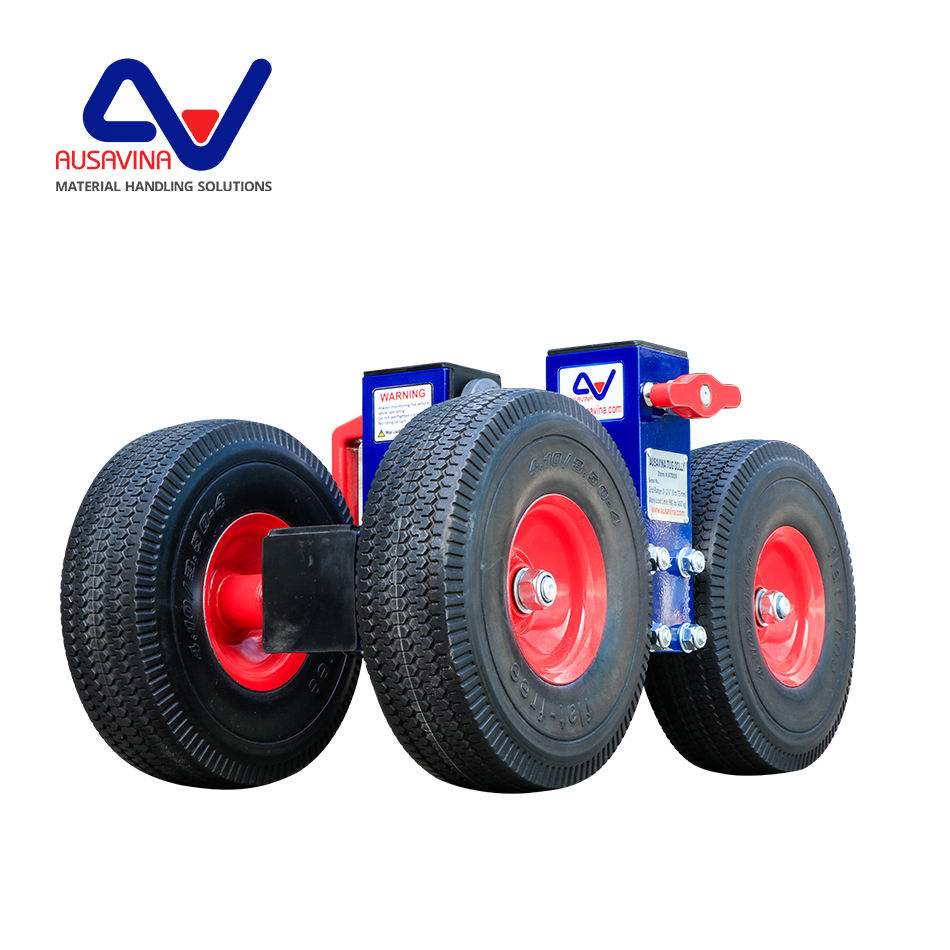 Transport stone slabs with best slab dolly cart Ausavina Tug Dolly with best price