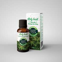 100% Natural Holy Basil Pure Essential Oil made in Vietnam
