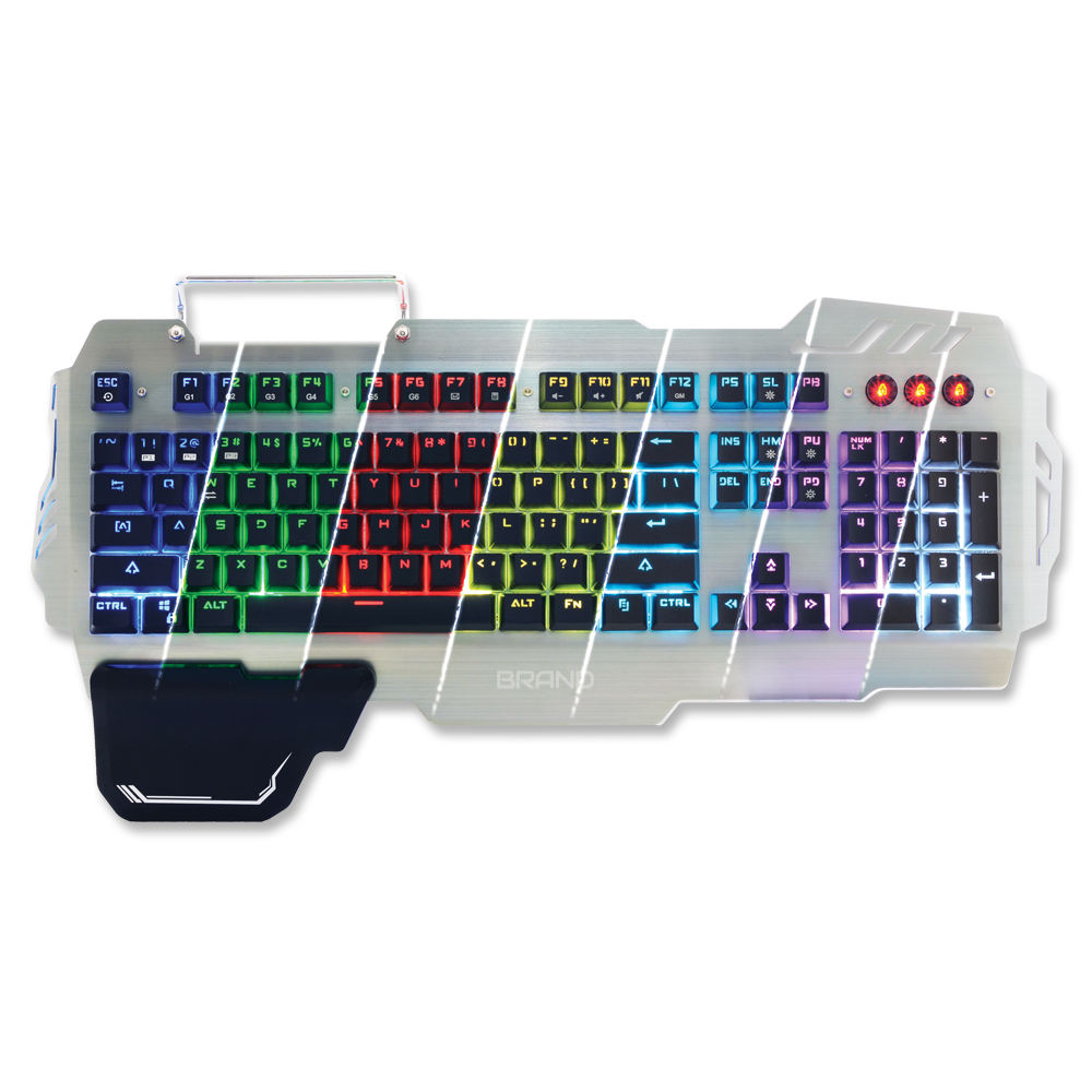 SKZ Keyboard With Multimedia Keys Features And Gaming Style Use For Computer From BIZCODE Group
