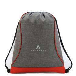 New material pretty Drawstring Backpack with Orange Base