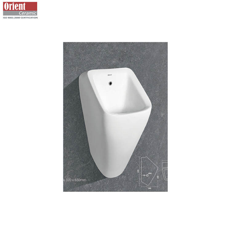Standard Quality Crack Resistant and Impact Proof Glossy Ceramic Urinal Manufacturer