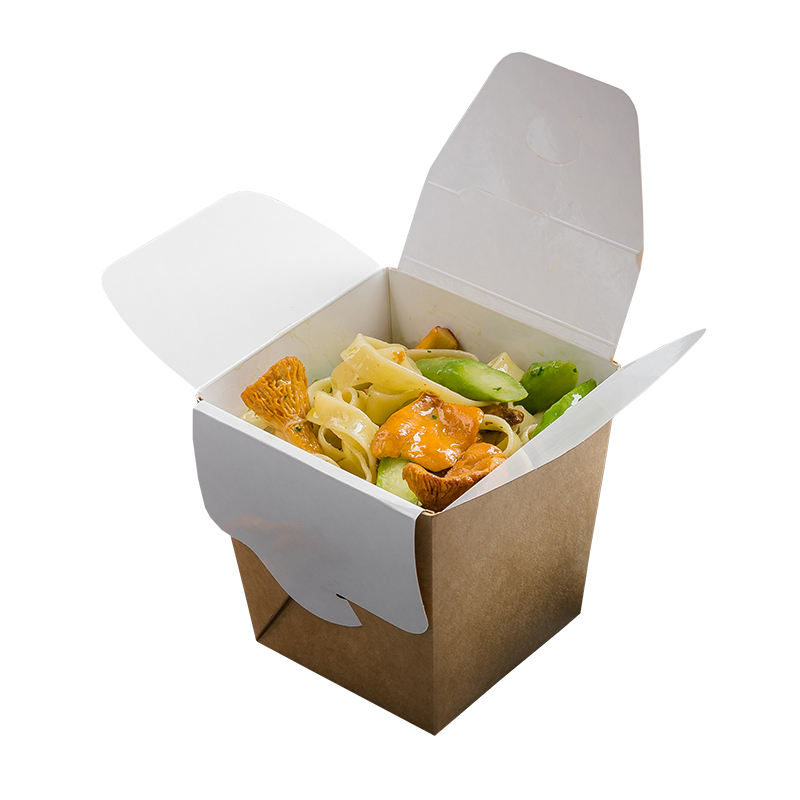 500 ml Noodles / Pasta / Chicken Lunch Food China Chinese Pack Wok Containers Packaging Boxes for Wok Dishes