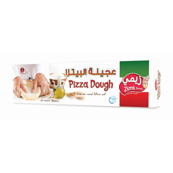 PIZZA DOUGH WITH LEAVEN AND OLIVE OIL 700 g (BOX) ARABIC