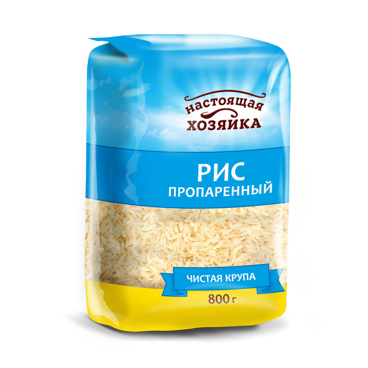 Packed parboiled rice, long grain. 800g, export prices