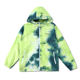 Eco Friendly Custom made Talior made comfort Promotion advertising jacket Polyester dip dye digital print outdoor parka for men
