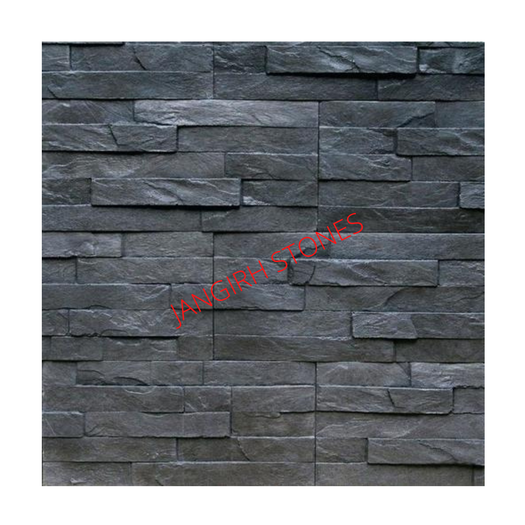India Black Rusty Slate Stone Tiles Wall Panels Wall Cladding Interior Exterior Design