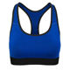 Custom Logo Sports Fitness & Yoga Wear Bra Hyper Cooling Nylon Fabric Cross Back Nude Yoga Bra