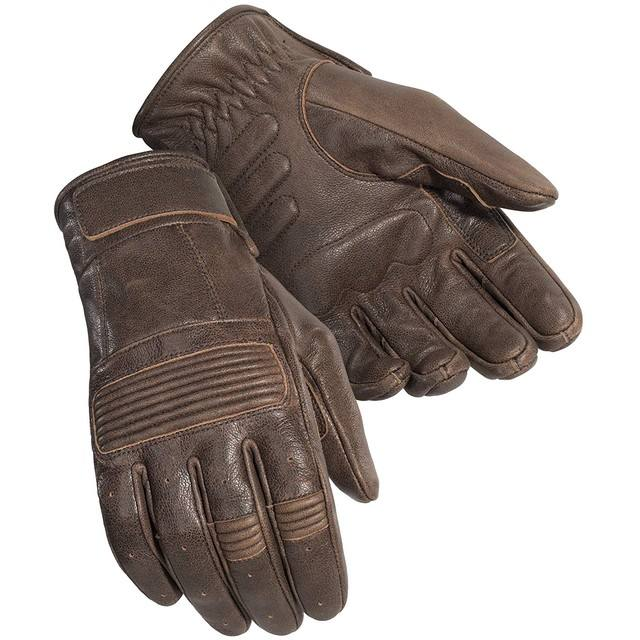 Cafe Racer Vintage Motorcycle Leather Gloves for Men/Men Classic Motorcycle Leather Gloves