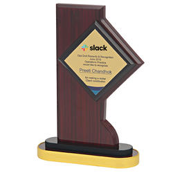 Fine Quality CUSTOMIZABLE WOODEN AWARD