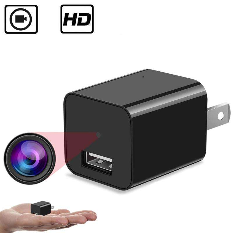 HD 1080P Invisible Video Hidden Spy USB Plug Charger Adapter Camera
