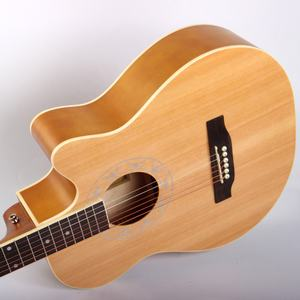 TR-208-39 Made In China Tree Root Acoustic Guitar 39 Inch Cutaway Beginner Ukulele Hot Sale Guitar For Sale