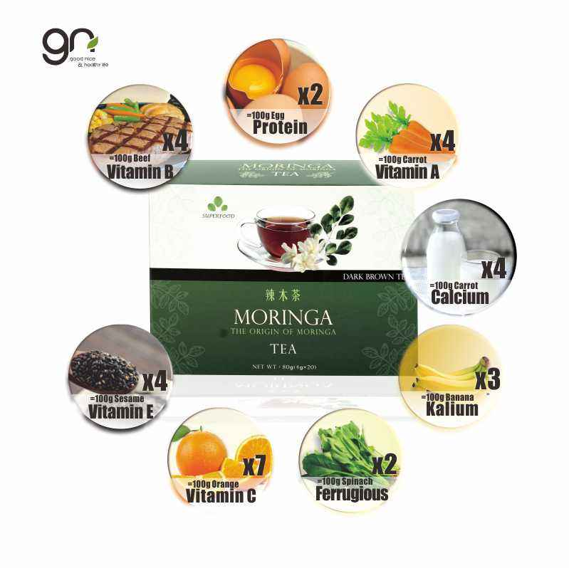 Made in Taiwan the organic moringa tea could make you get healthy care and providing energy if you want slim waist