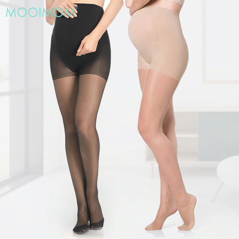 Transparent Maternity Stockings / Tights 8 Denier Stocking For Pregnant Women