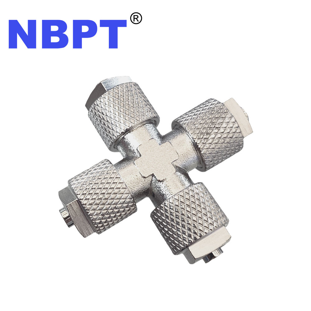 NBPT quick air brass fitting pipe
