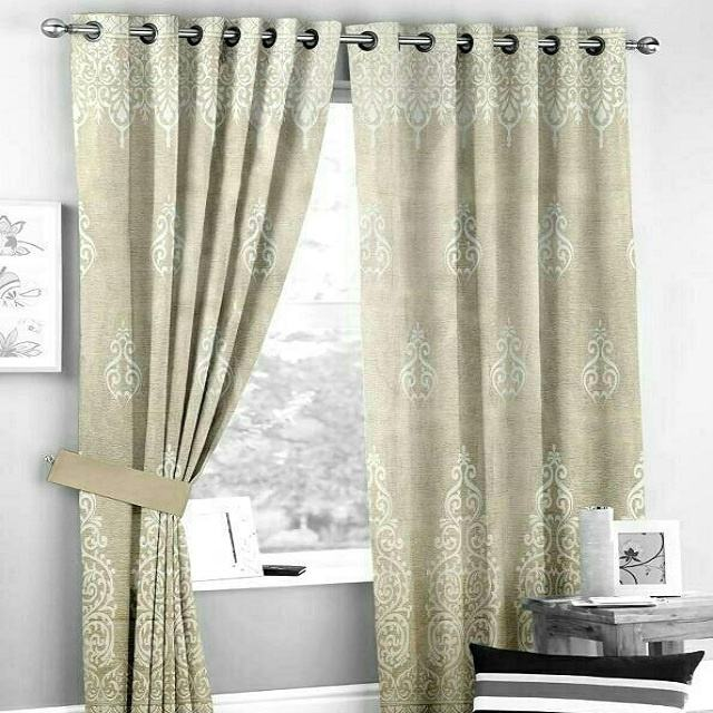 Curtains and drapes Blackout Curtain Fabric Drapes for Living Room