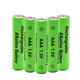 AAA 600mAh Nicd Rechargeable Battery For Emergency Light Customized 1.2V SC OEM PVC Assembly Color