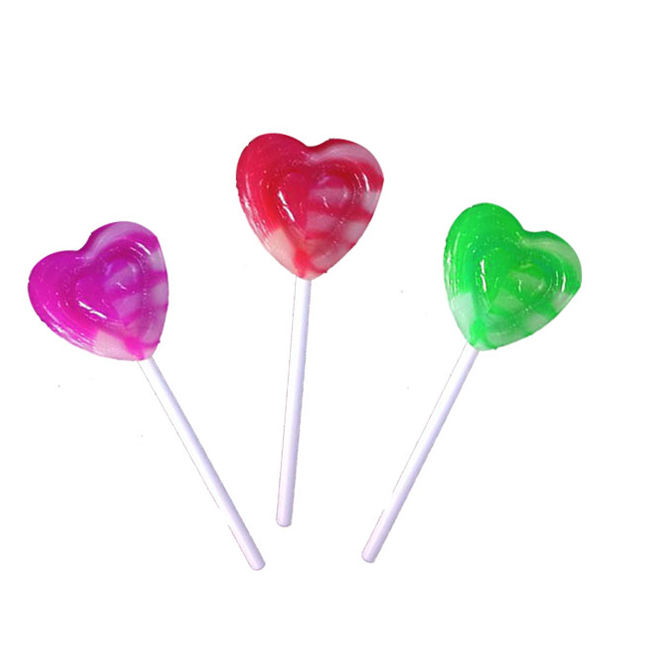 Hard candy lollipop