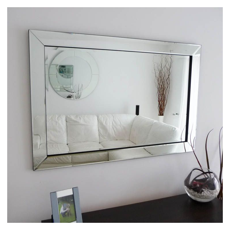 Rectangular Wall Mounted Hinged Wall Mirror for Bath, Home Interior, hotel Decoration