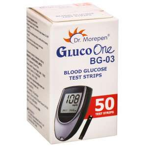 Dr.Morepen GlucoOne Monitor Test strip