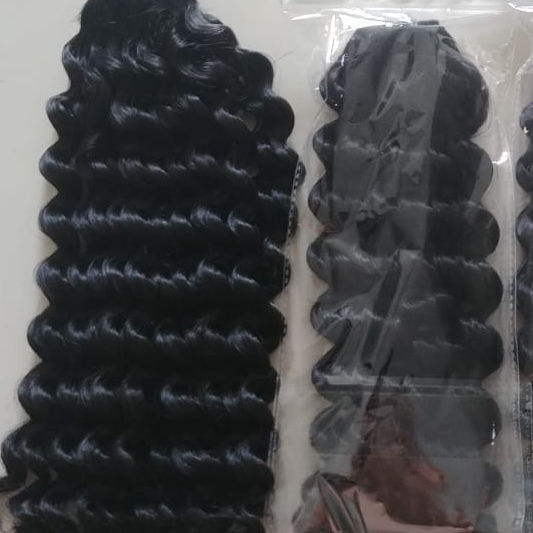First deal online curly weft hair natural in alibaba shipping fee by UPS no chemical