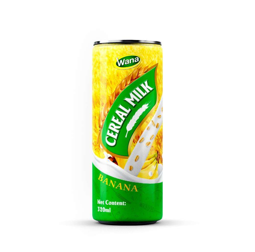 Banana Flavoured Cereal Milk Drink 320mL Canned