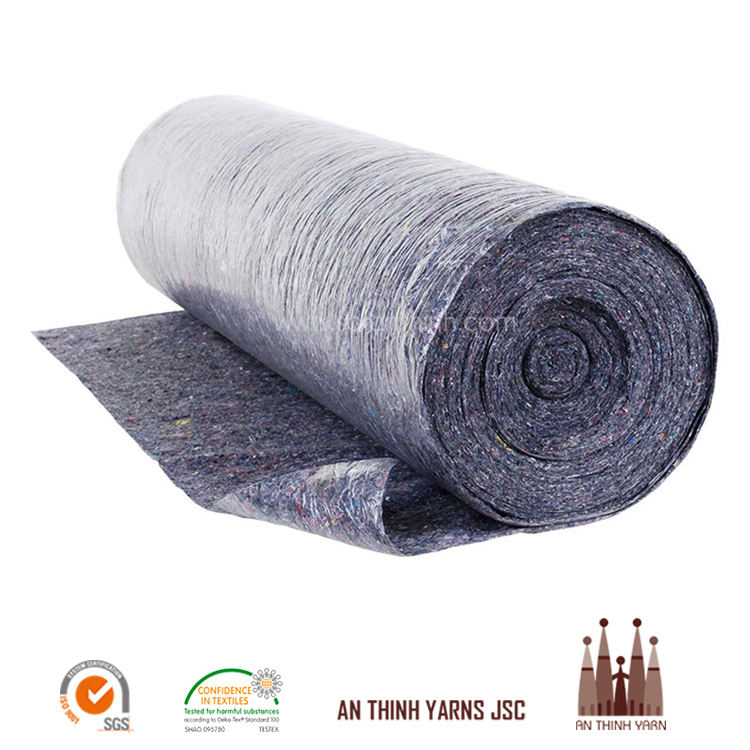 Gold Supplier Vietnam For Custom Production Needle Punched Non Woven Recycled Felt Fabric