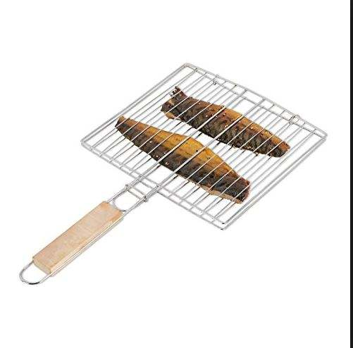 Gas fish grill stainless steel