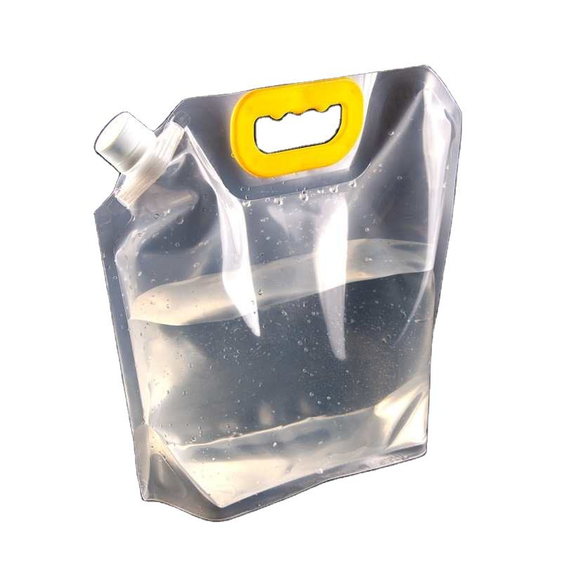 Safety Food Grade Transparent spout bags clear spout bags thermos bags liquid in package