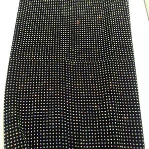 S112 100cm*100cm size Hot Selling New design Rhinestones mesh Elastic stretch Crystal Fabric for Lady dress