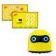new arrivals 2020 Non-screen STEM AI arduino educational coding humanoid smart robotic kit toy for 3+ kid