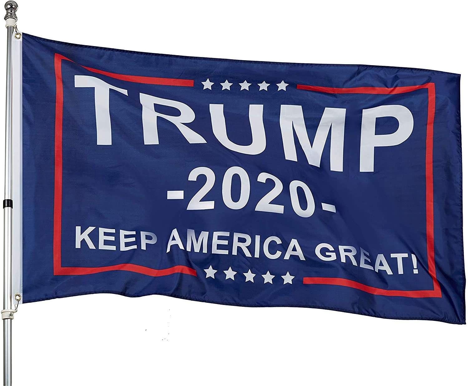 Trump for President 2020 Keep America Great Flag 3x5 Feet with Grommets