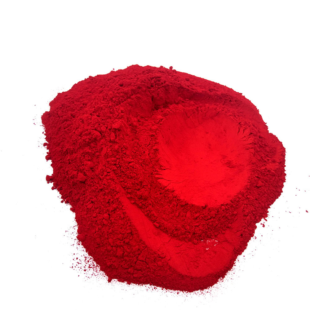 Plastic Pigments Colored Powder Red 2