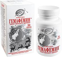 90 capsules GEMAFEMIN menopause relief women's health food supplement