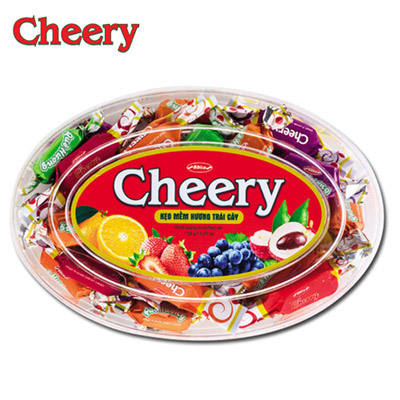 (Cheery) Soft Candy In Oval-shaped Plastic Bag 150g