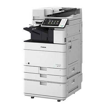 Used Printer Multifunction Colorful Photocopies