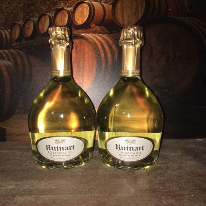 750 ml Ruinart Blanc De Blancs Philippe Costa Elite Giuseppe Verdi Selection Wine $25.90-$29.90/ Case