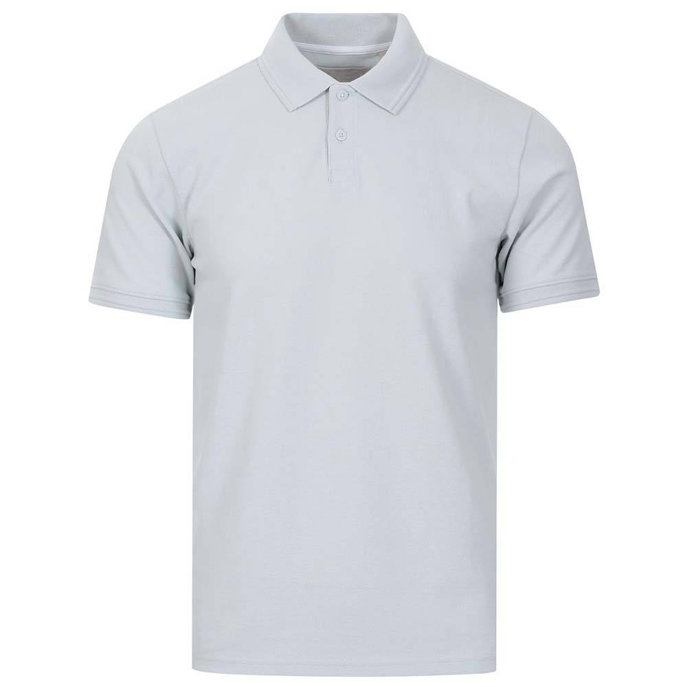 Polo shirts for men slim smart back and front white