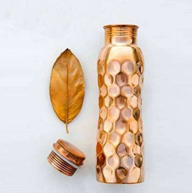 Original Copper Drinking water Bottle, made in India