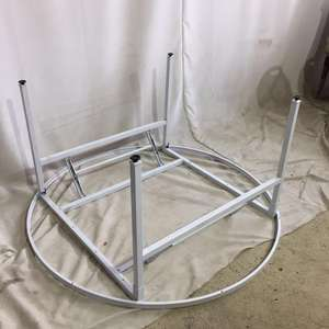 folding table frame round banquet table frame folding table round