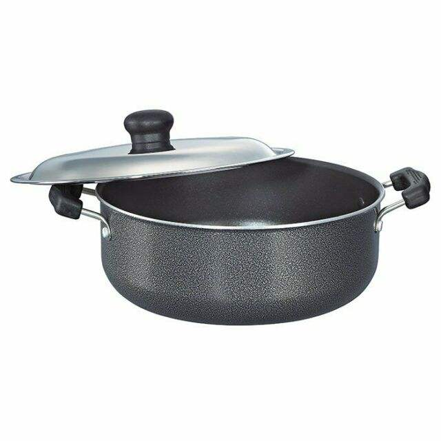 Prestige Omega Select Plus Sauce Pan 200 mm with SS Lid