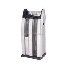 (OPQ-SR/BK) Easy and Convenient to Carry Automatic 2 Slots Stainless steel Wet Umbrella Wrapping Machine Plastic Bag Dispenser m