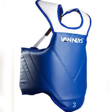 Professional Leather MMA Chest Guard Body Protector & Belly Guard