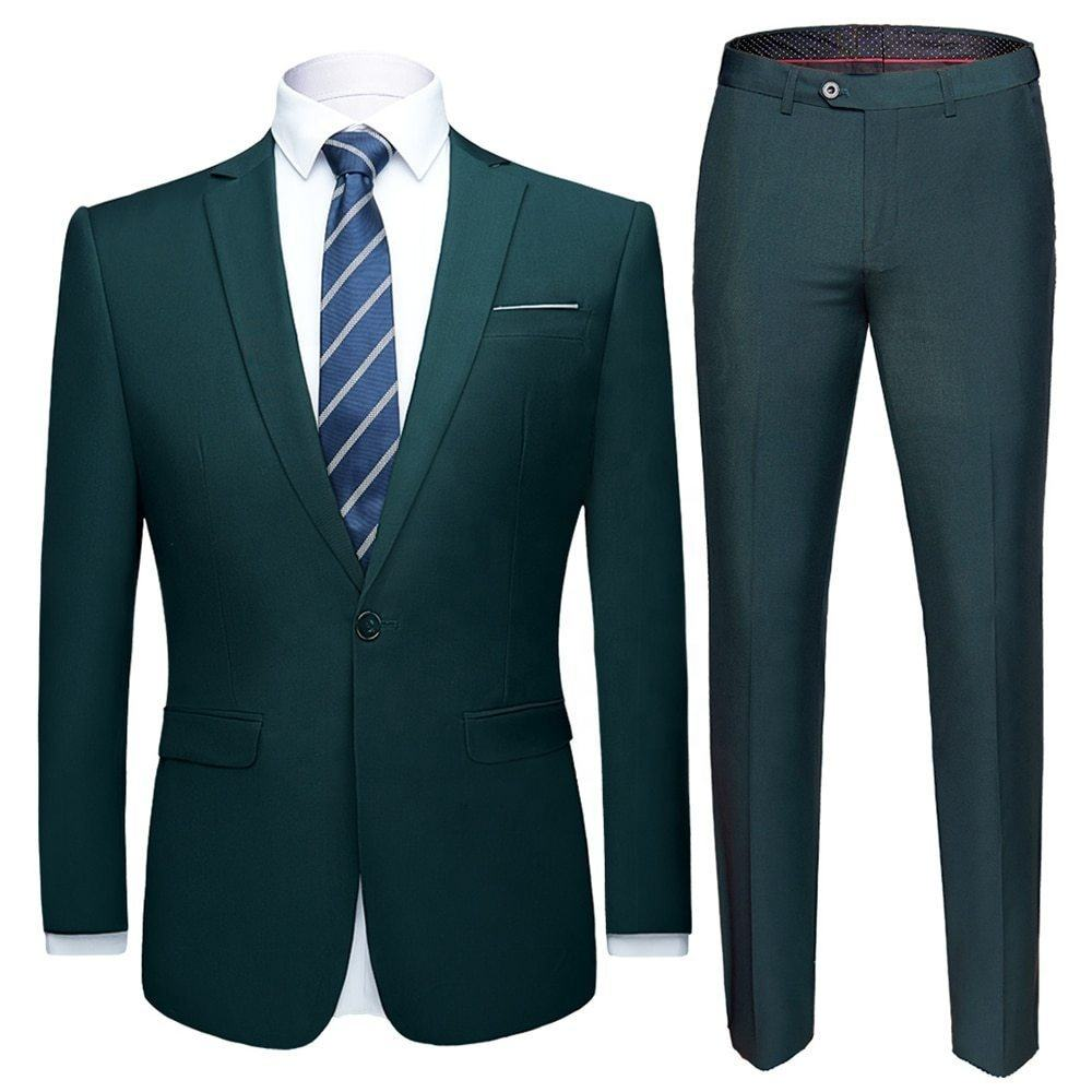 High quality royal blue coat pant photos designs wedding turkey Italy men suit for office