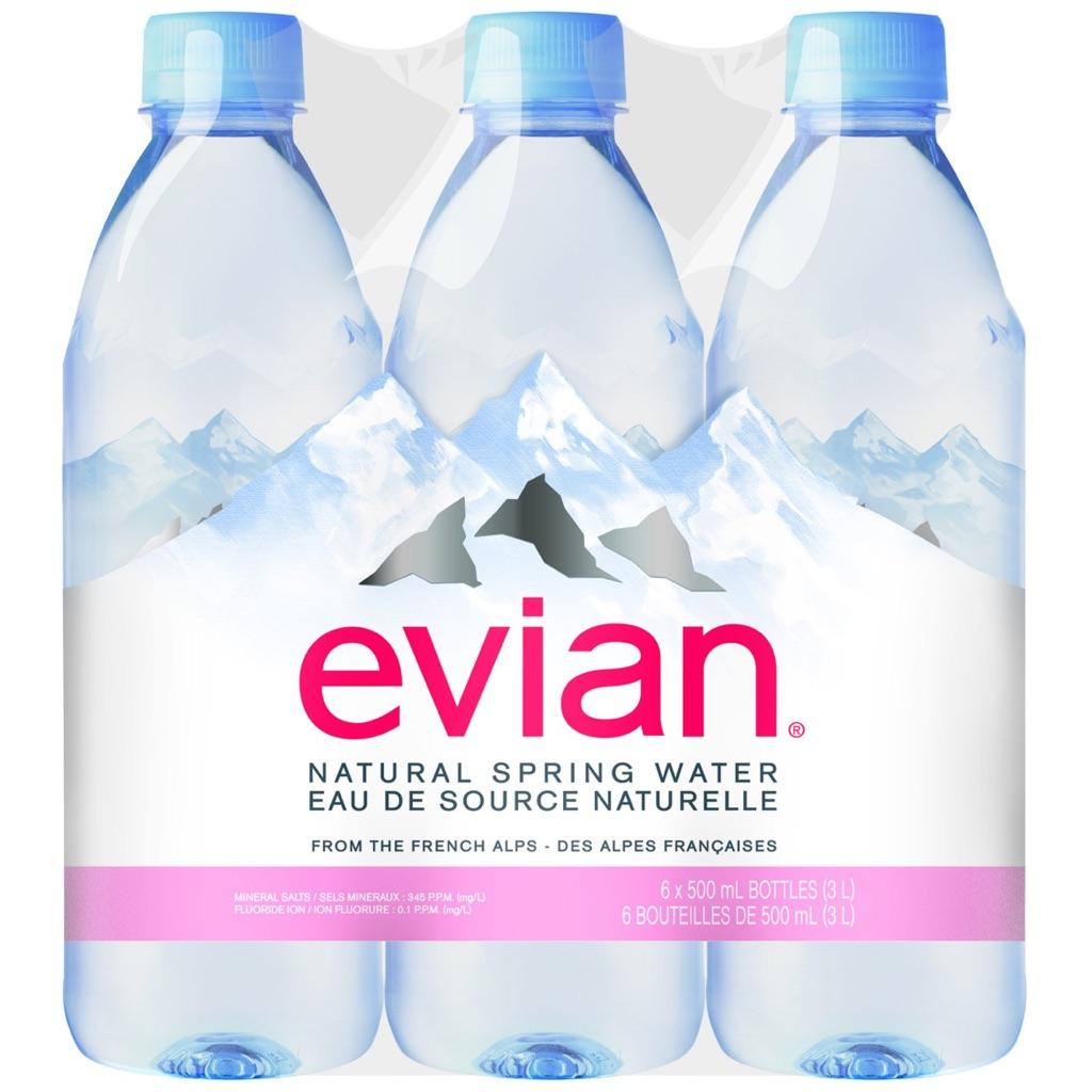 Ready to Export 100% Original Evian Mineral Water